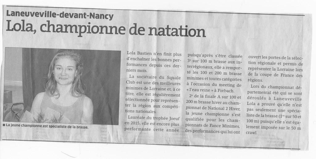 Articles de presse - Piscine laneuveville devant nancy ...